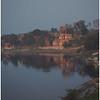Yamuna River. Sunset