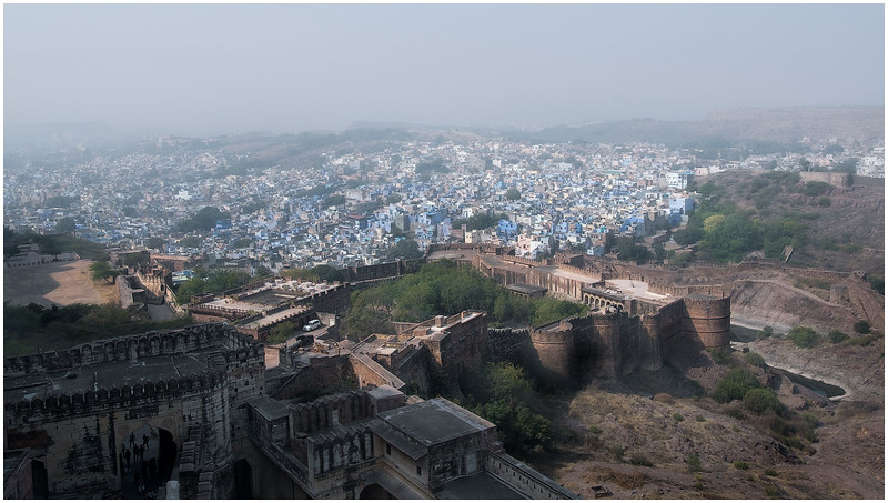 View Of The City And Fort