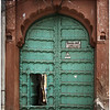 Typical Jodhpur House Gate