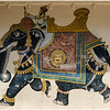 Painting Of Maharaja On Elephant