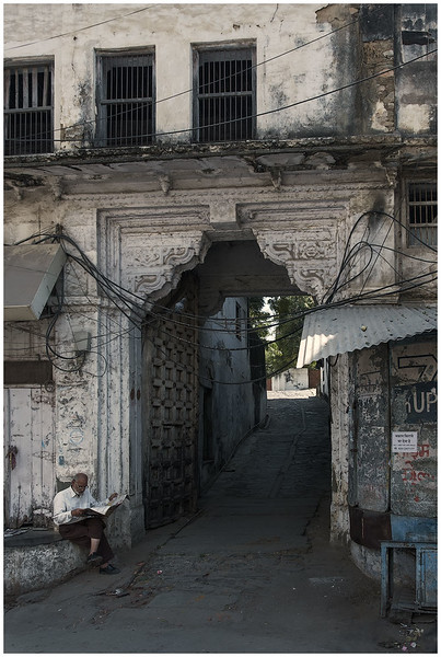 Entrance To The Side Street