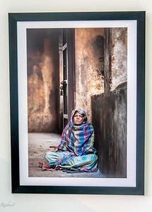 Lady in a shawl