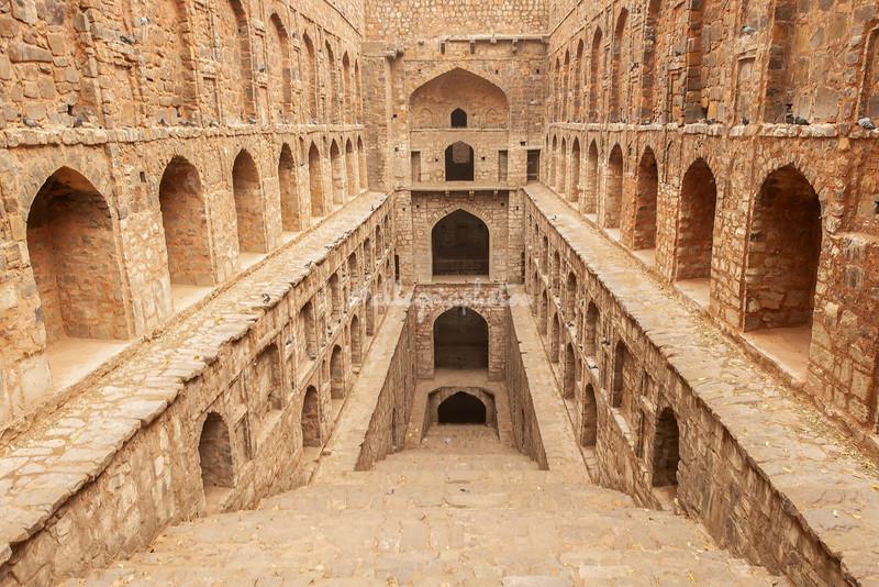 """Agrasen ki Baoli"", an ancient step well in New Delhi, India"