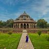 Isa Khan's Garden Tomb, Humayoun Tomb Complex