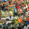 Vegetable market in Old Delhi