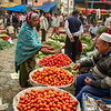 Buying tomatoes, Delhi