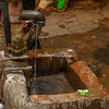 Fresh water pump in Old Delhi