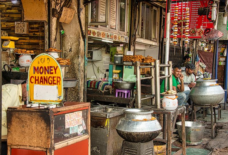 Street vendors, Delhi
