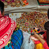 Buying bangles in Old Delhi