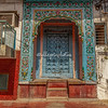 Ornate doorway in Old Delhi