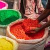 Holi powder, Delhi
