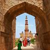 Qut'b Minar, Delhi, India