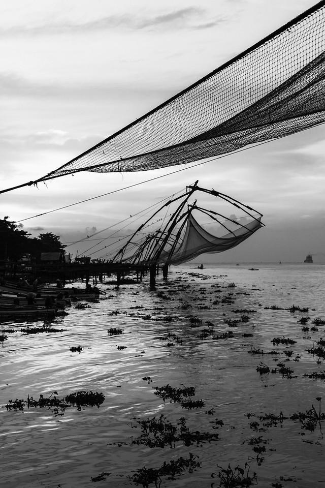 Chinese Fishing Nets, Fort Cochin, Kerala