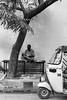 Man with Newspaper, Pondicherry