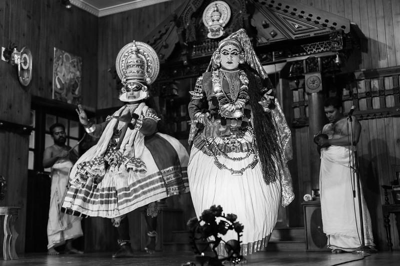 Kathakali Performance, Fort Cochin, Kerala