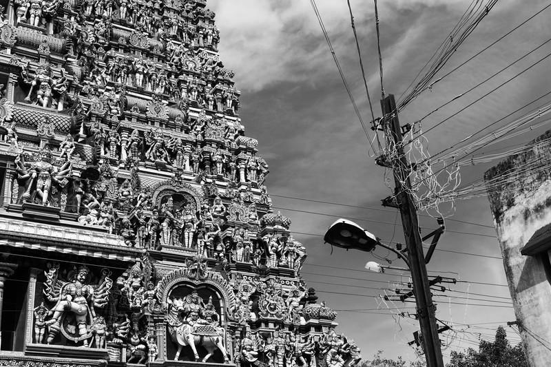 West Gopuram of Sri Meenakshi Temple, Madurai, Tamil Nadu