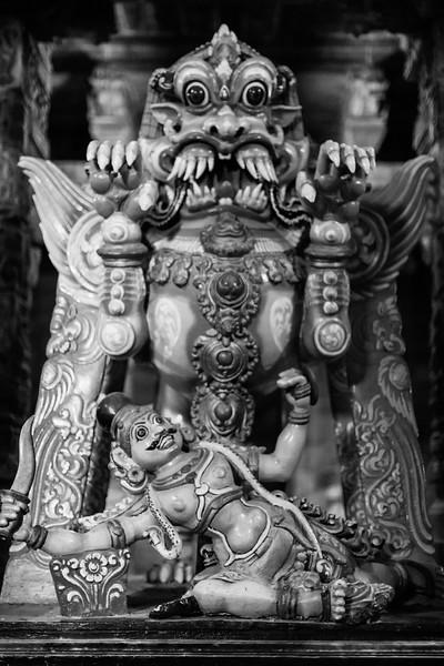 Statue in Sri Ekambaranathar Temple, Kanchipuram, Tamil Nadu
