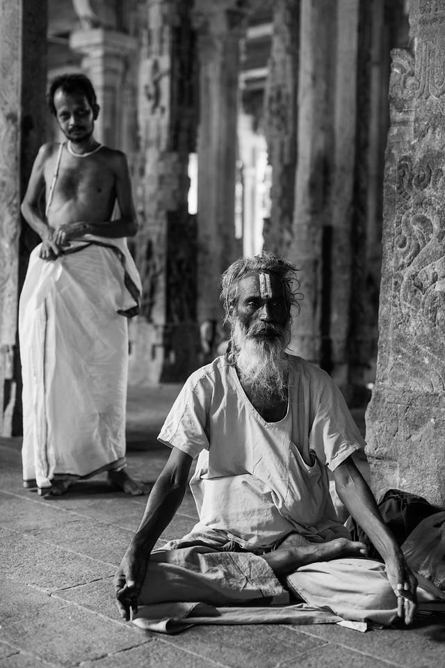 Sadhus, Sri Ranganathaswamy Temple, Trichy, Tamil Nadu