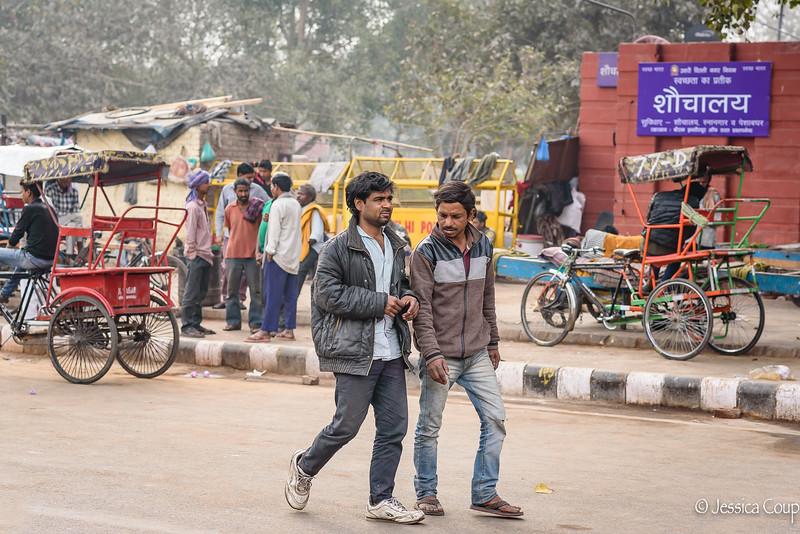 Streets of Old Dehli