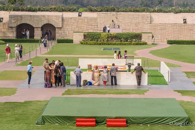 Raj Ghat, Ghandi's Eternal Flame