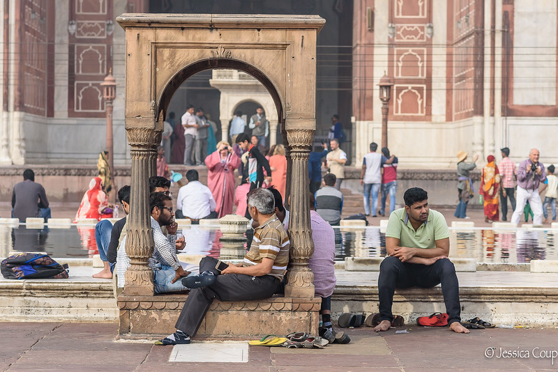 Conversations and Alone Time at the Jama Masjid