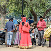Grabbing Snacks at the India Gate Park