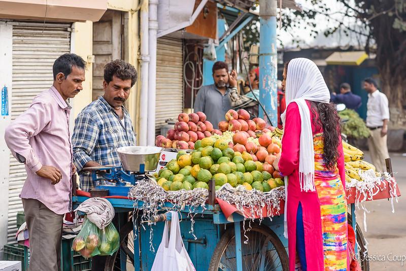 Purchasing Fruit