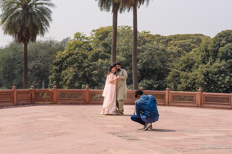 Engagement Photos at Humayun's Tomb