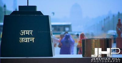 """Indian Heat"", India Gate Park, Delhi, India, 2007 Print IND3612-026"
