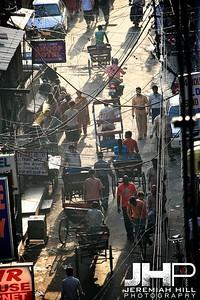 """""""Pahar Ganj Backpacker Street #3"""", Delhi, India, 2007 Print IND3102-152"""