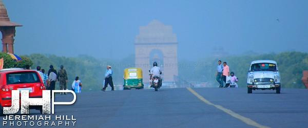 """India Gate #3"", National Parliament, Delhi, India, 2007 Print IND3612-195"