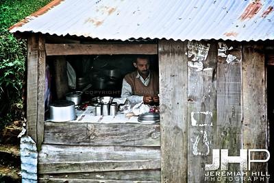 """""""Dharmasala Chai Stall"""", Dharamsala, Himichal Pradesh, India, 2007 Print IND3913-106"""