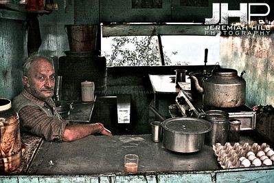 """Himichal Chai Man"", Dharamsala, Himichal Pradesh, India, 2007 Print IS2506-066"