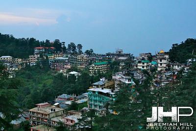 """McLeod Ganj Town View #1"", Dharamsala, Himichal Pradesh, 2007 Print IND3913-090V2"