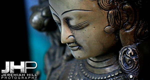 """The Quiet Of A Northern Buddha"", Dharamsala, Himichal Pradesh, India, 2007 Print IS2506-087V3"