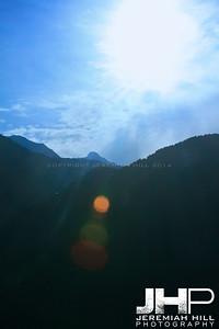 """Mountain View #3"", Dharamsala, Himichal Pradesh, 2007 Print IND3913-177"