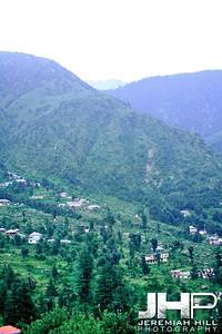 """Mountain View #6"", Dharamsala, Himichal Pradesh, 2007 Print IND3913-073V2"