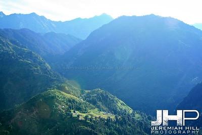 """Mountain View #2"", Dharamsala, Himichal Pradesh, 2007 Print IND3913-173"
