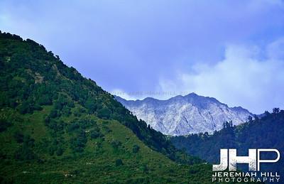 """Mountain View #5"", Dharamsala, Himichal Pradesh, 2007 Print IND3913-014"