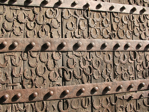 Horseshoe Covered Door - Fatehpur Sikri