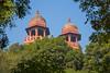 2 Domes at Fatehpur Sikri's Jama Masjid. - Fatehpur Sikri, Uttar Pradesh