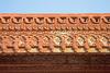 Designs at Fatehpur Sikri's Jama Masjid. - Fatehpur Sikri, Uttar Pradesh