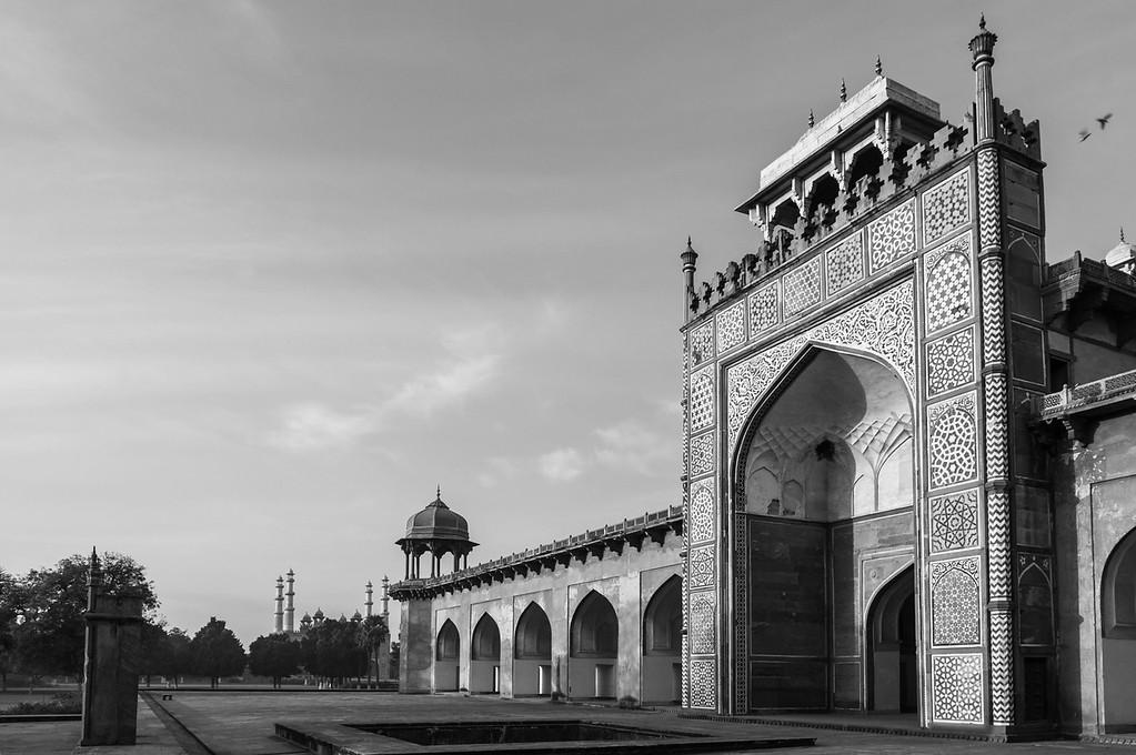 Akbar's Mausoleum, Agra, Uttar Pradesh