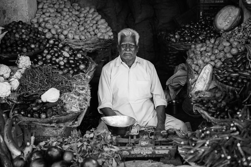 Vegetable Seller, Gwalior, Madhya Pradesh