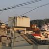 Uitzicht uit mijn kamer.