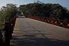 Dandi Bridge, the first bridge crossed by Gandhi on The Salt March Route, 2014, Gujarat, India.