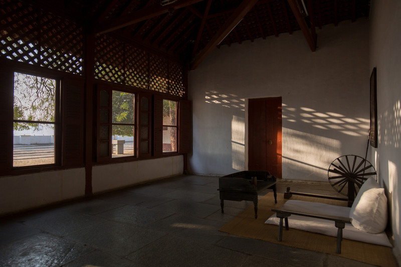 Sabarmati, Gandhi's Ashram, the beginning of The Salt March Route, 2014, Gujarat, India.