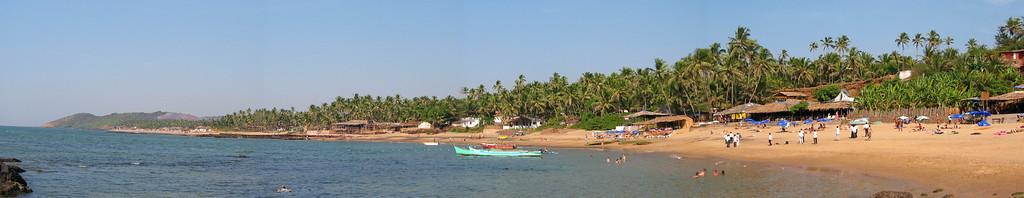 Anjuna Beach (looking North)