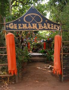 German Bakery, Anjuna