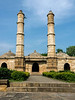 The Sahar Ki Masjid (Mosque of the City) 15th-16th C, Champaner Pavagdh Archeological Park, Gujurat State, India